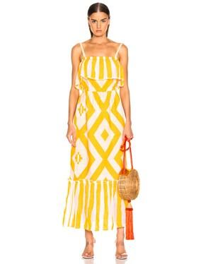 Biruhi Long Tier Dress