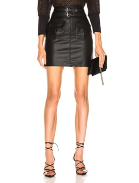 You're No Good High Waist Mini Skirt