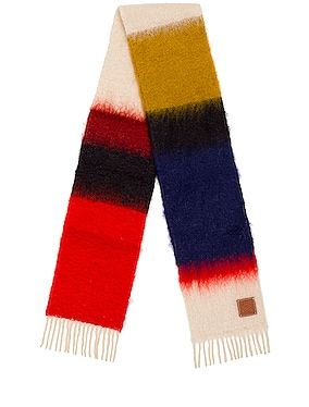 Mohair Stripes Scarf