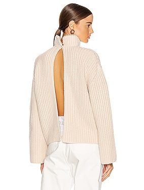 Pearls Cropped Sweater