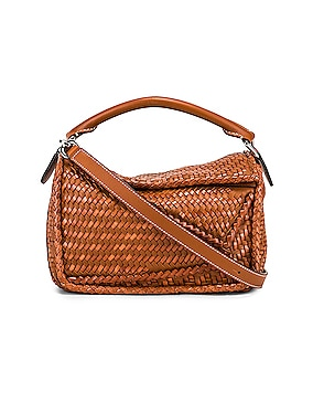 Puzzle Woven Small Bag