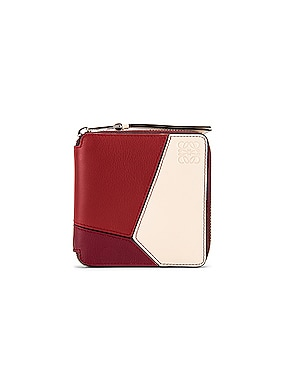 Puzzle Square Zip Wallet