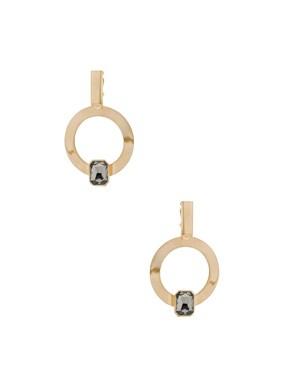 for FWRD Hoop Earrings with Crystal