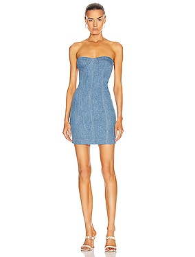 x Jordach Bustier Mini Dress