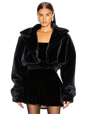 Yasmeen Faux Fur Jacket
