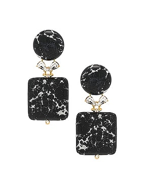 Stone Starlet Earrings