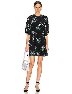 for FWRD Puff Sleeve Mini Dress