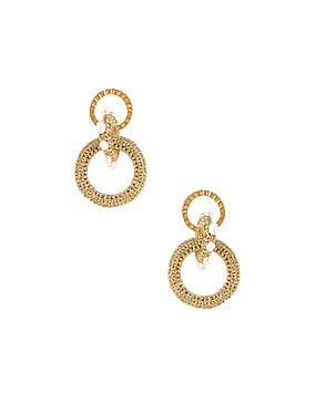 Pharaoh Pearl Earrings