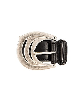Triple Buckle Belt