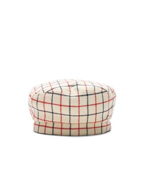 Reversible Florence Check Hat
