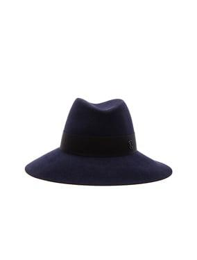 ce9eb691d14 Maison Michel Lucia Wavy Large Brim Hat in Nude