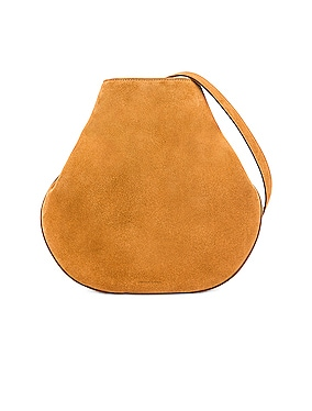 Suede Folded Hobo Bag