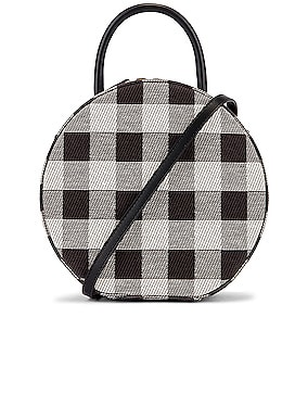 Checker Circle Crossbody