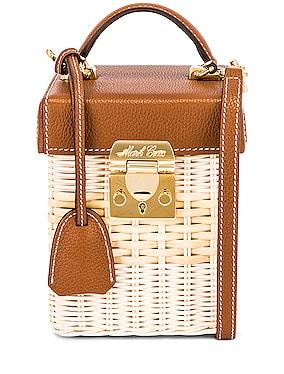 Grace Rattan Cube Bag