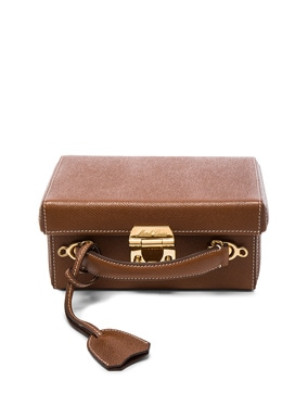 Small Saffiano Grace Box Bag