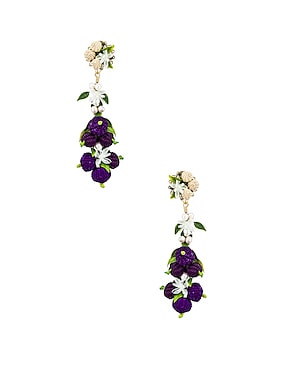 Blueberry Tropics Earrings