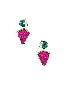 Strawberry Tropics Earrings