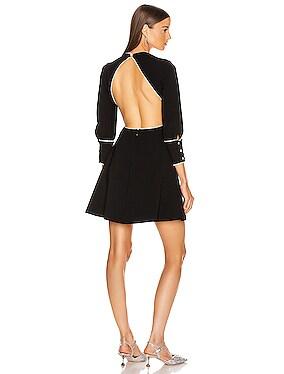 Jewel Open Back Mini Dress