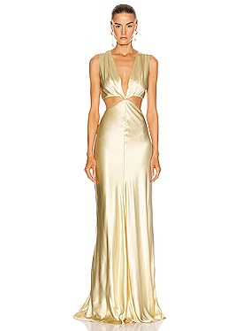 Monaca Cut Out Gown