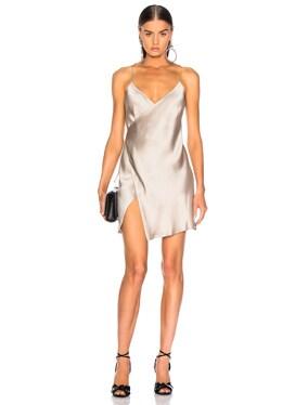 for FWRD Strappy Wrap Mini Dress
