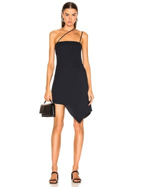 for FWRD Asymmetrical Strap Dress