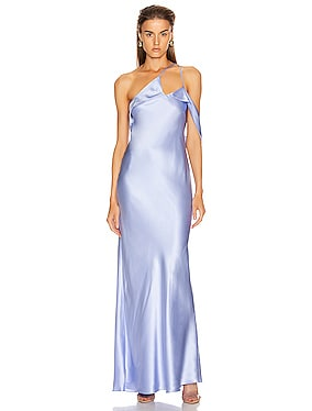 Gown with Arm Drape