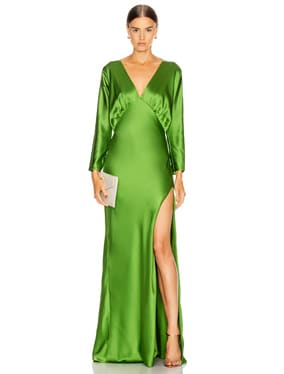 Dolman Sleeve Gown