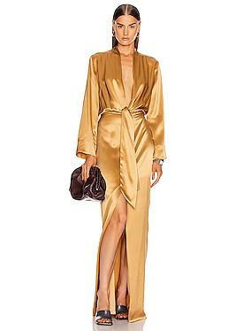 for FWRD Kimono Tie Gown