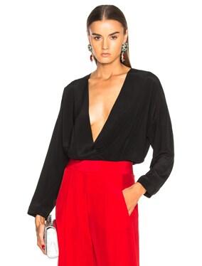 Oversized Blouse Bodysuit