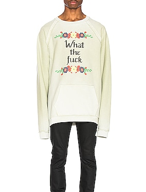 Fade Garment Graphic Long Sleeve Tee