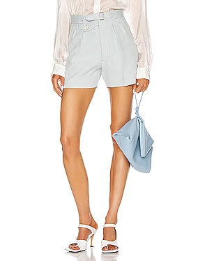 Tailored Belted Short