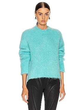 Crewneck Mohair Sweater