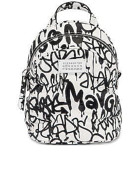 Glam Slam Graffiti Crossbody Backpack