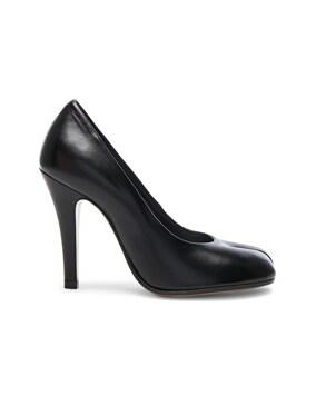 Leather Tabi Heels