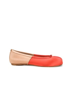 Colorblock Ballerina Flat