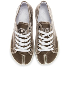 Toe Lace Up Sneakers