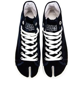 Toe High Top Sneakers
