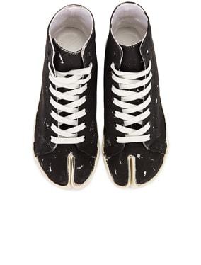 High Top Tabi Sneakers
