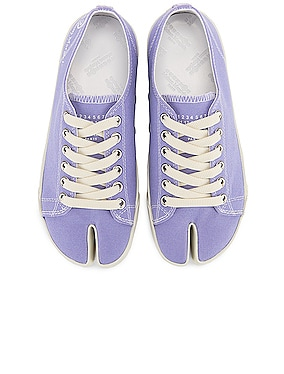 Tabi Low Top Canvas Sneakers