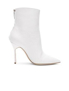 Leather Zarinanu 105 Boots