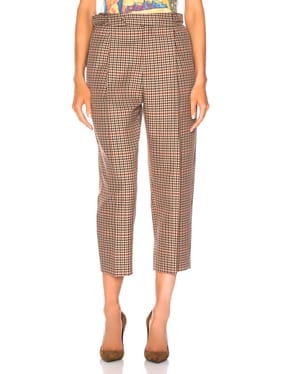 Pleated Trouser Pant