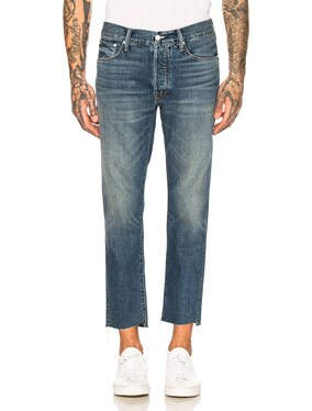 The Neat Ankle Step Jean