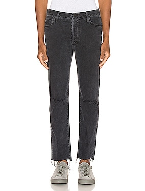 The Neat Ankle Step Fray Jean