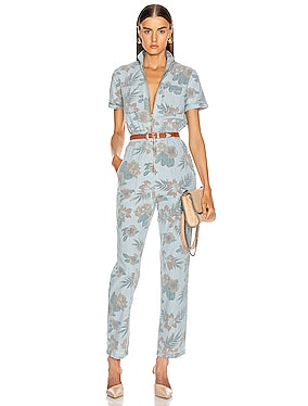 The Zip Up Short Sleeve Jumpsuit