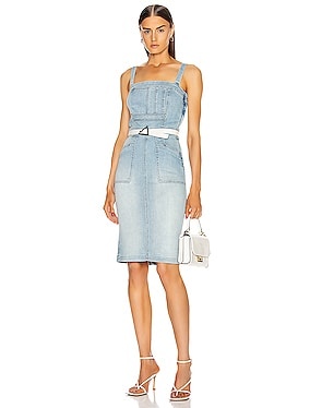 Pocket Hustler Overall Dress