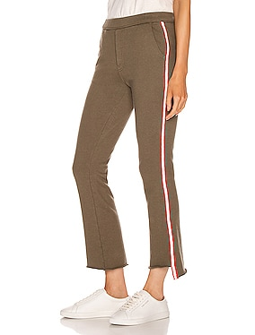 Lounger Insider Crop Step Fray