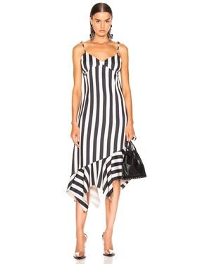 Slip Peplum Dress