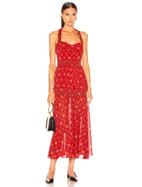 Seraphina Print Dress