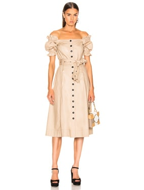 Charlize Canvas Dress