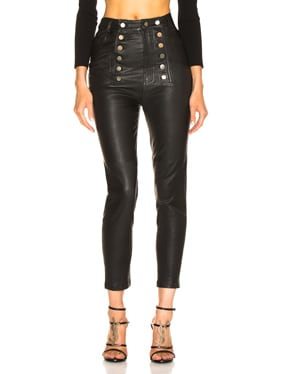 Alma Stretch Leather Pant